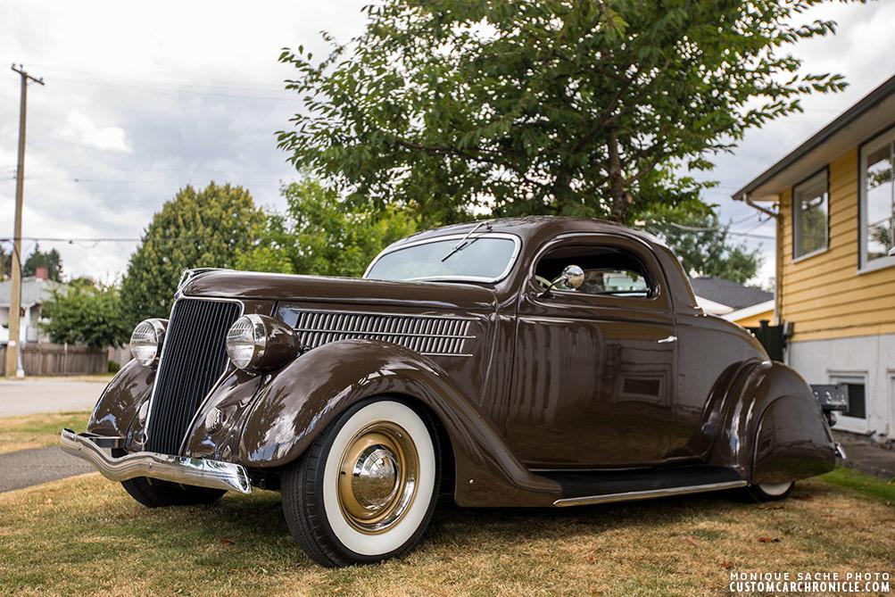 Brian holden 1936 ford custom car chroniclecustom car for 1936 3 window coupe