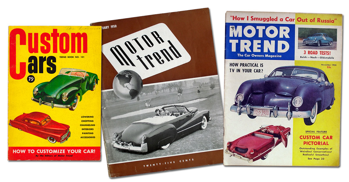 Customizing with early Cadillac Tail Fins - Custom Car ...