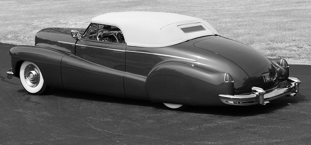 Customizing with early Cadillac Tail Fins - Custom Car Chronicle