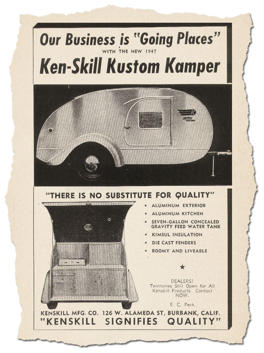 1948 Giveaway Teardrop Trailer - Custom Car Chronicle