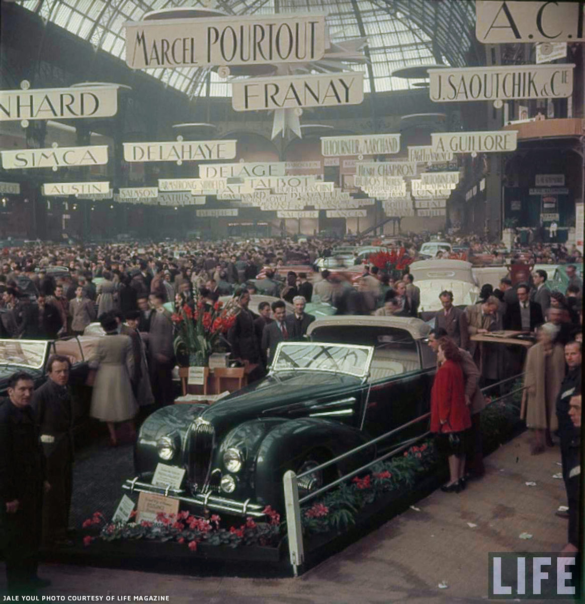 1948 paris salon car show custom car chroniclecustom car chronicle. Black Bedroom Furniture Sets. Home Design Ideas