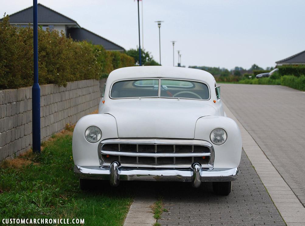 Jack Stewart Ford White Primer - Custom Car Chronicle