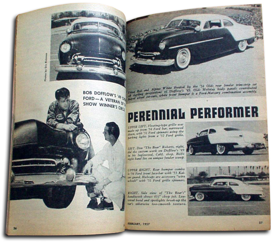 1951 FORD Front Splash pan never been installed