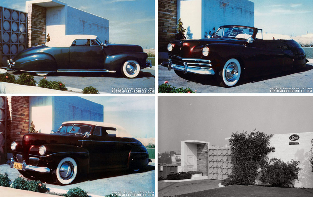 George Barris First Photo Location - Custom Car Chronicle