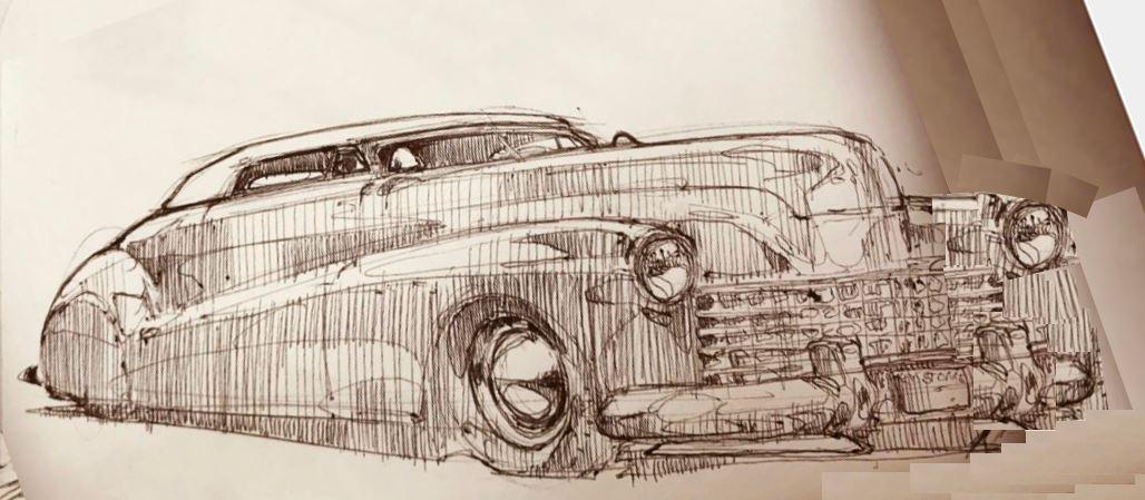 41 Buick Roadmaster George Barris