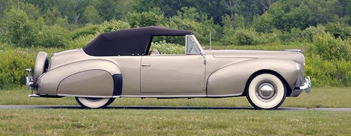 40 Lincoln Continental stock