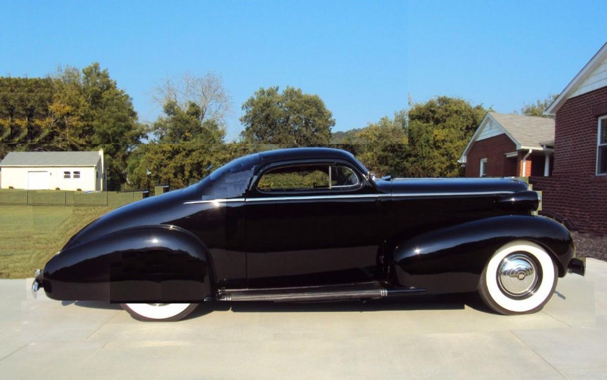 1937 Cadillac chopped 3w long door shorter roof