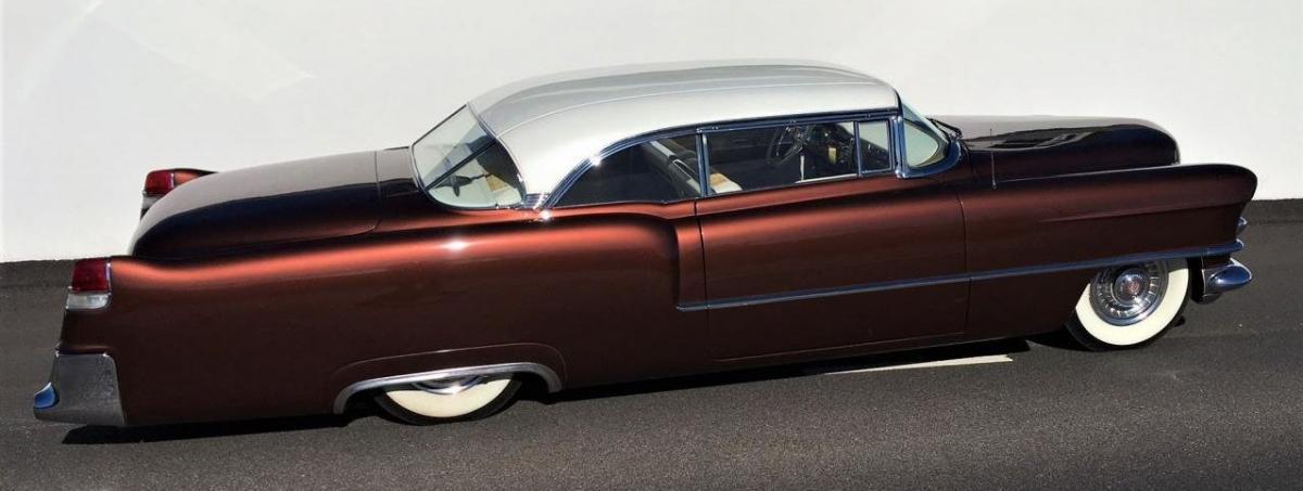 55 Cadillac custom