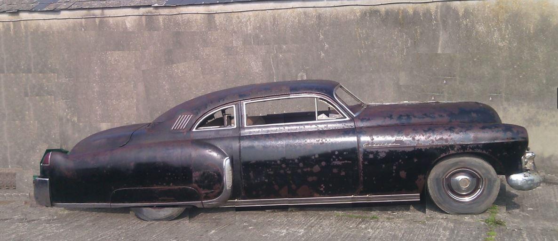 48 Cadillac Fleetwood choptop