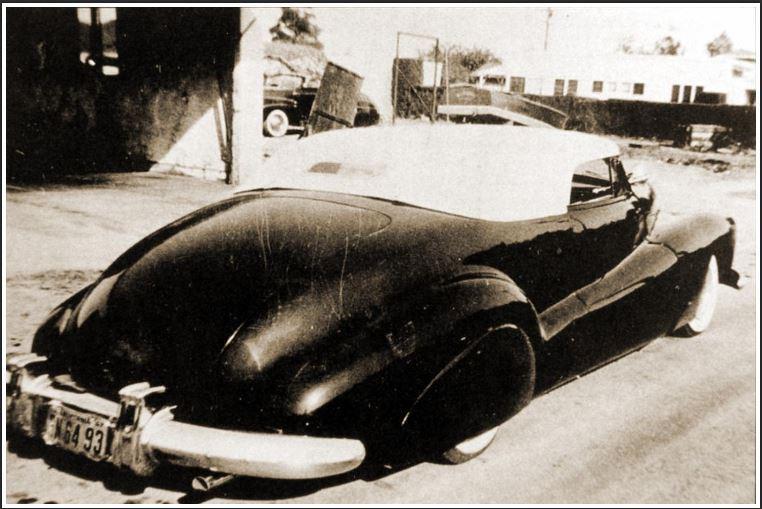 George Barris 41 Buick Roadmaster rear view