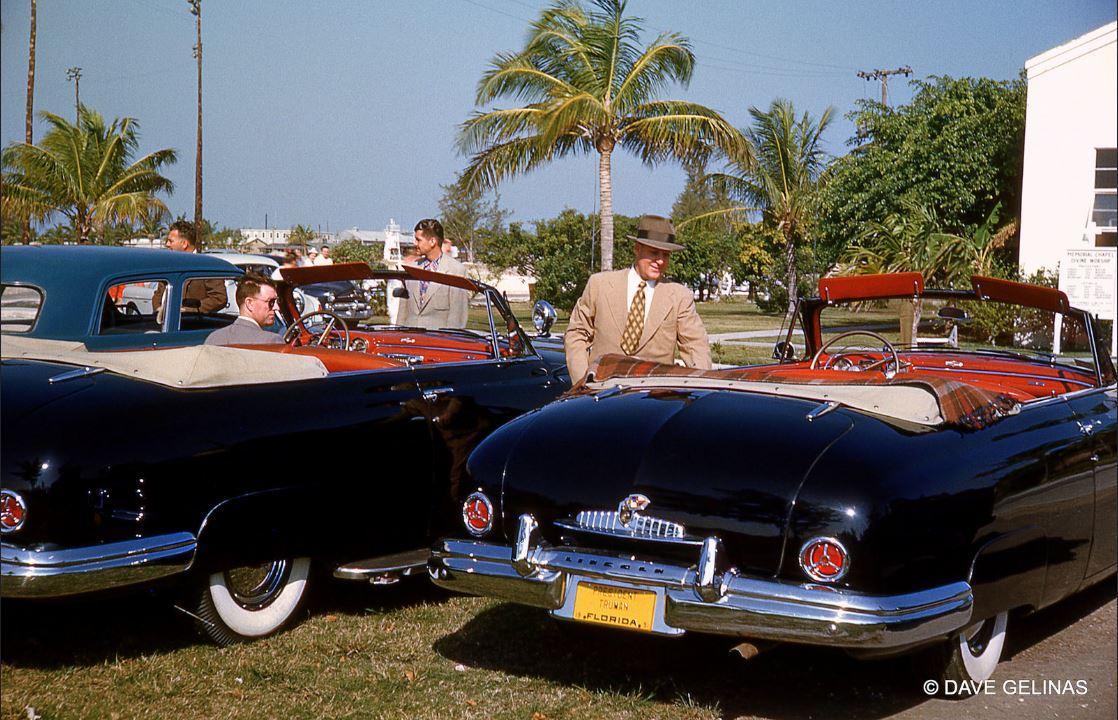 Harry Trumans 1949 Lincoln Cosmopolitan