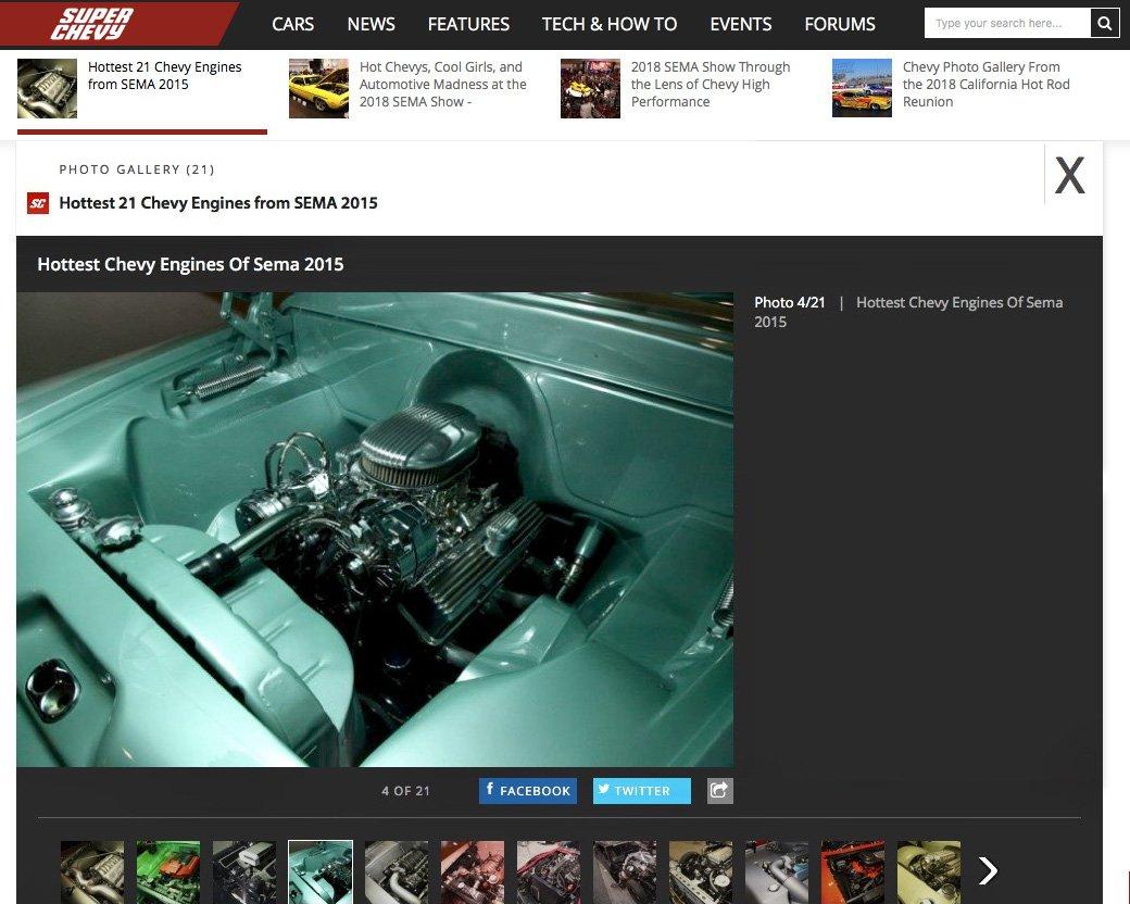 SEMA-Show-Engine-Website