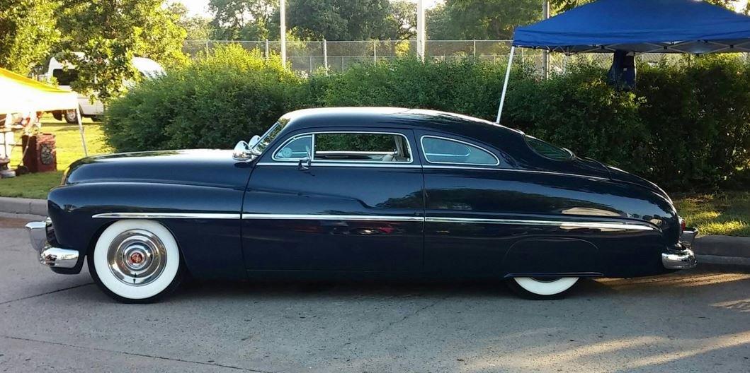 1950 Mercury Traditional Custom Wolk Design